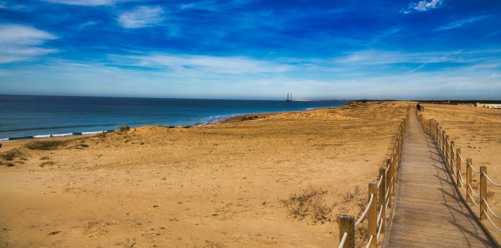 Passserelle sur la dune à Labenne Océan